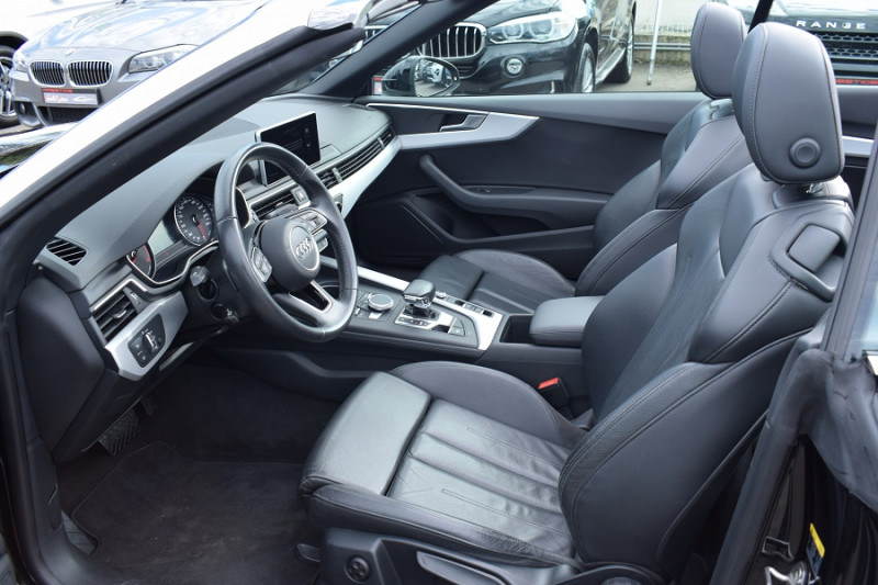 Photo 8 de l'offre de AUDI A5 CABRIOLET 2.0 TDI 190CH DESIGN LUXE QUATTRO S TRONIC 7 à 32900€ chez Univers Motors