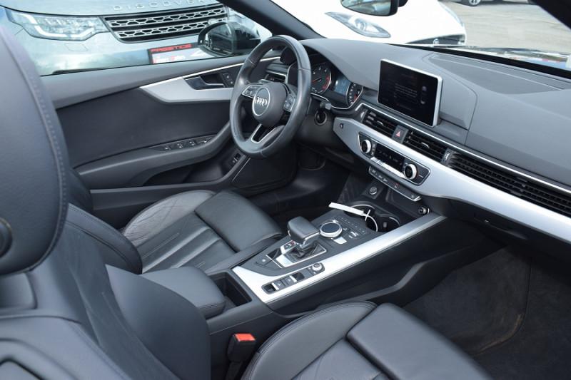 Photo 11 de l'offre de AUDI A5 CABRIOLET 2.0 TDI 190CH DESIGN LUXE QUATTRO S TRONIC 7 à 32900€ chez Univers Motors