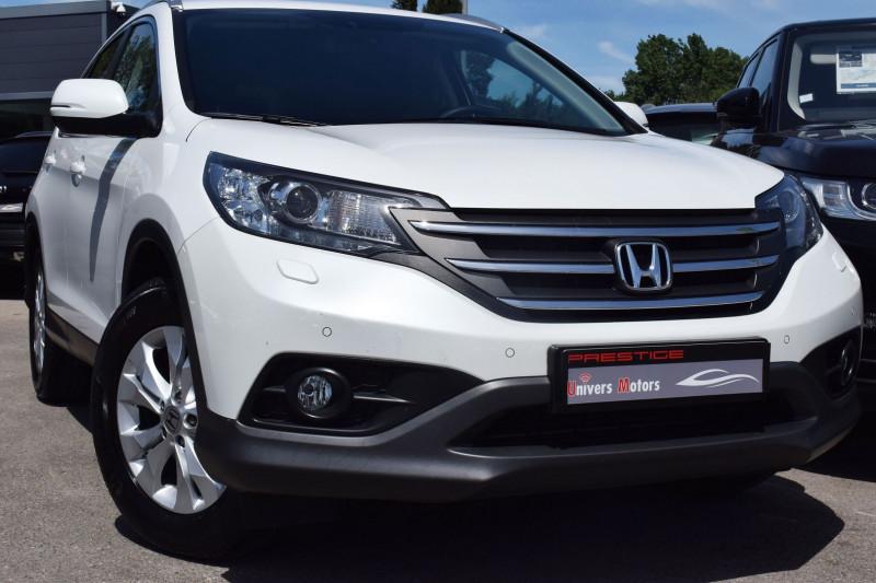 Honda CR-V 1.6 I-DTEC 120CH ELEGANCE  2WD Diesel BLANC NACRE Occasion à vendre