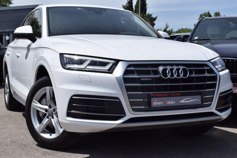 Audi Q5 2.0 TDI 190CH BUSINESS EXECUTIVE QUATTRO S TRONIC 7 Diesel BLANC Occasion à vendre