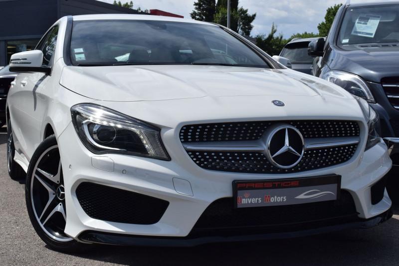 Mercedes-Benz CLA (C117) 200 CDI 7G-DCT AMG Diesel BLANC Occasion à vendre
