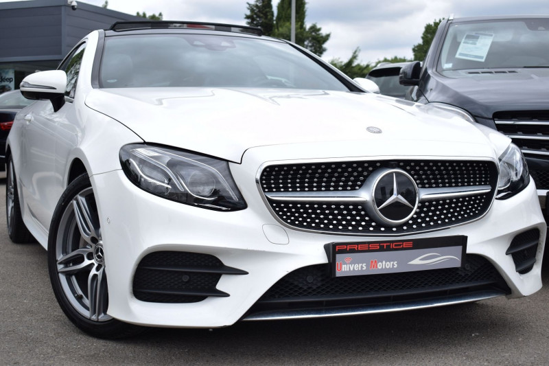 Mercedes-Benz CLASSE E COUPE (C238) 220 D 194CH FASCINATION 9G-TRONIC Diesel BLANC Occasion à vendre