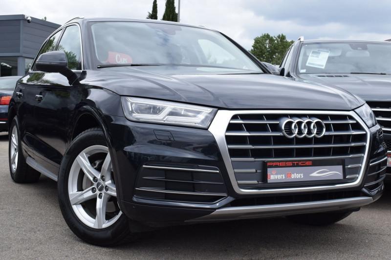 Audi Q5 2.0 TDI 150CH BUSINESS EXECUTIVE Diesel BLEU FONCE Occasion à vendre