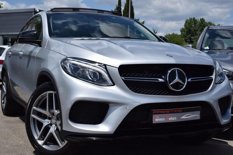 Mercedes-Benz GLE COUPE (C292) 350 D 258CH FASCINATION 4MATIC 9G-TRONIC Diesel GRIS Occasion à vendre