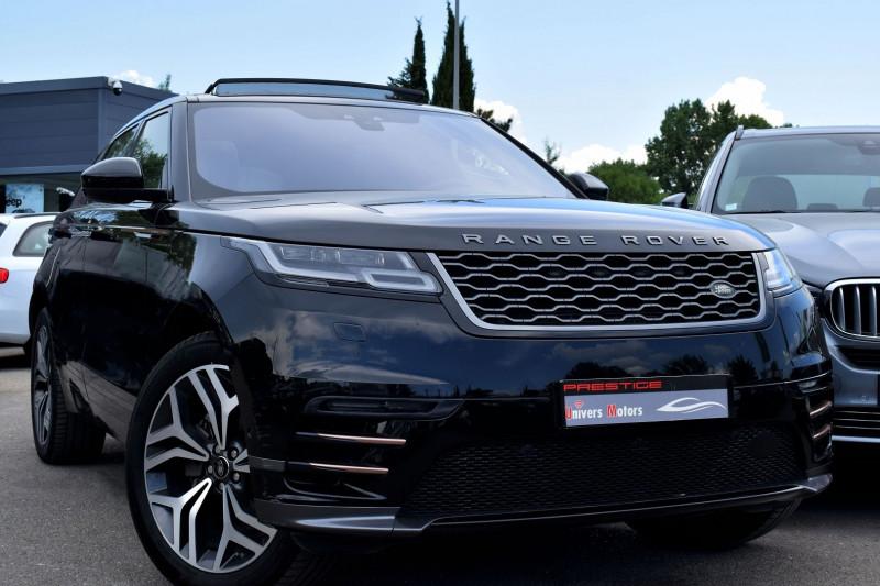 Land-Rover RANGE ROVER VELAR 2.0D 240CH R-DYNAMIC AWD BVA Diesel NOIR Occasion à vendre