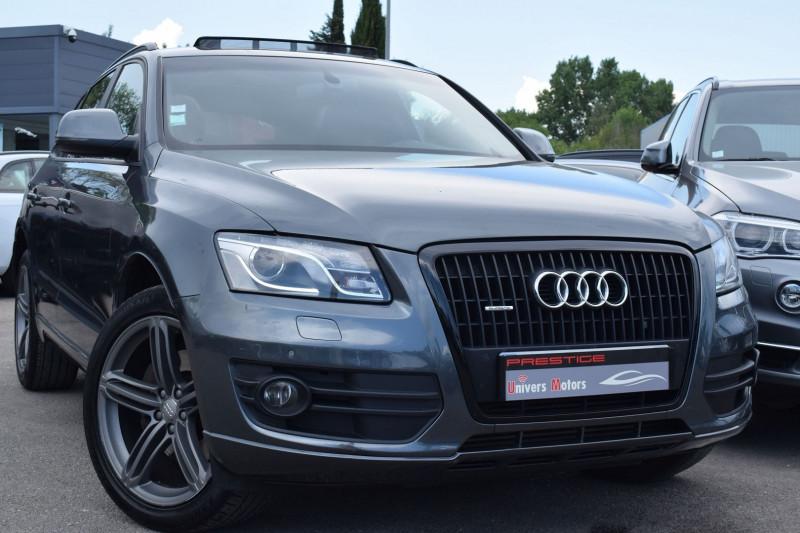 Audi Q5 3.0 V6 TDI 245CH FAP S LINE QUATTRO S TRONIC 7 Diesel ANTHRACITE Occasion à vendre