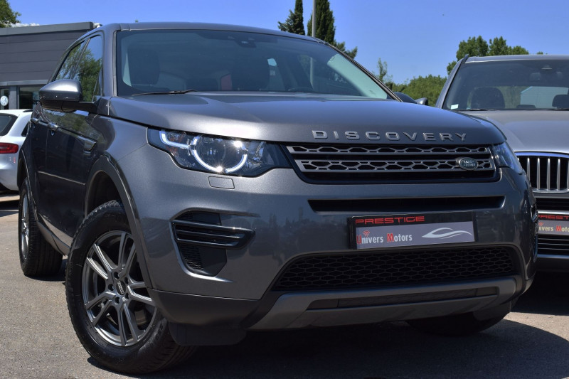 Land-Rover DISCOVERY SPORT 2.0 TD4 150CH AWD BUSINESS Diesel GRIS ANTHRACITE Occasion à vendre
