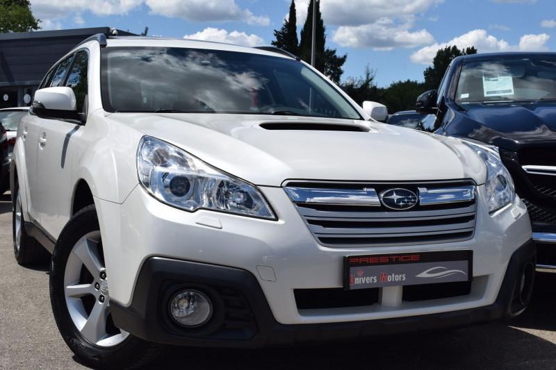 Subaru OUTBACK 2.0D 150CH BOXER CONFORT LINEARTRONIC Diesel BLANC NACRE Occasion à vendre