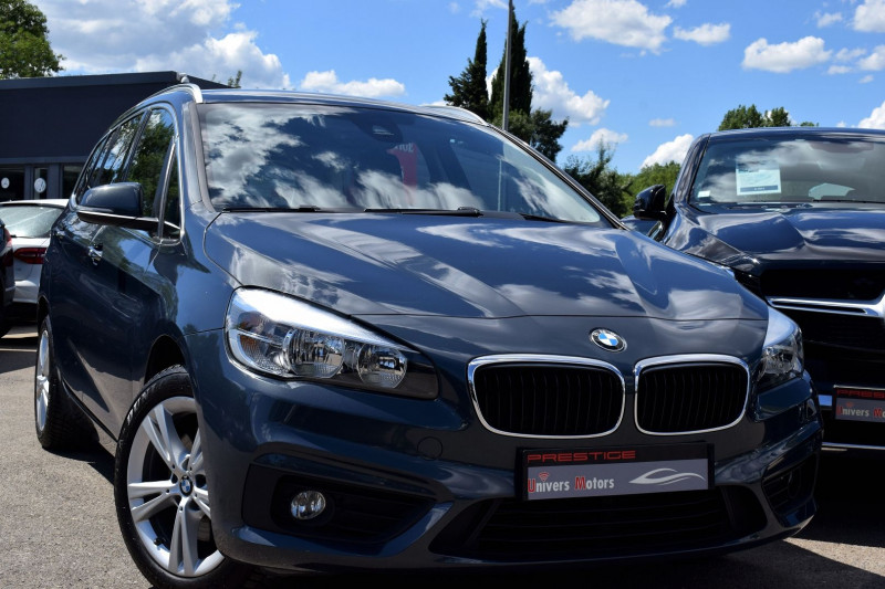 Bmw SERIE 2 GRAN TOURER (F46) 218DA 150CH LOUNGE 7PLACES Diesel BLEU Occasion à vendre