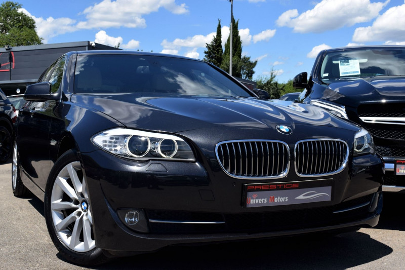 Bmw SERIE 5 TOURING (F11) 523IA 204CH LUXE Essence GRIS FONCE Occasion à vendre