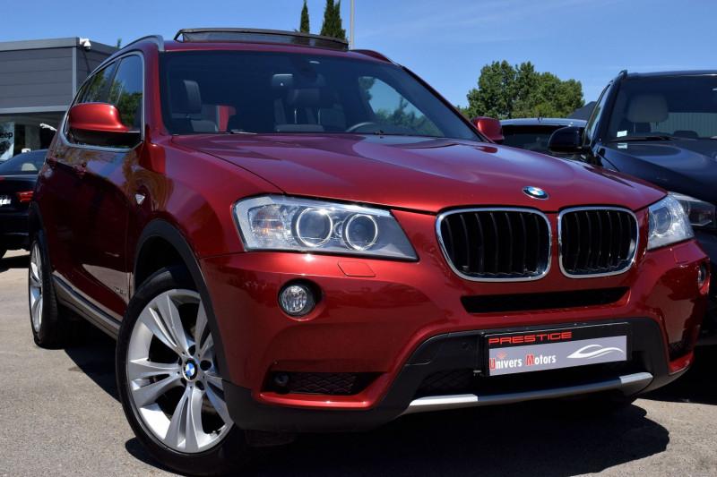 Bmw X3 (F25) XDRIVE20DA 184CH LUXE Diesel ROUGE Occasion à vendre