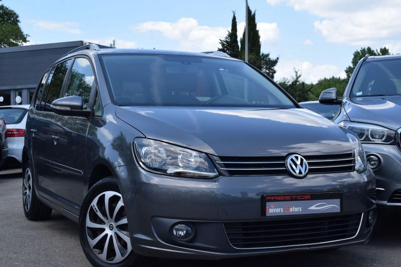 Volkswagen TOURAN 1.6 TDI 105CH CONFORTLINE 7PLACES Diesel GRIS ANTHRACITE Occasion à vendre