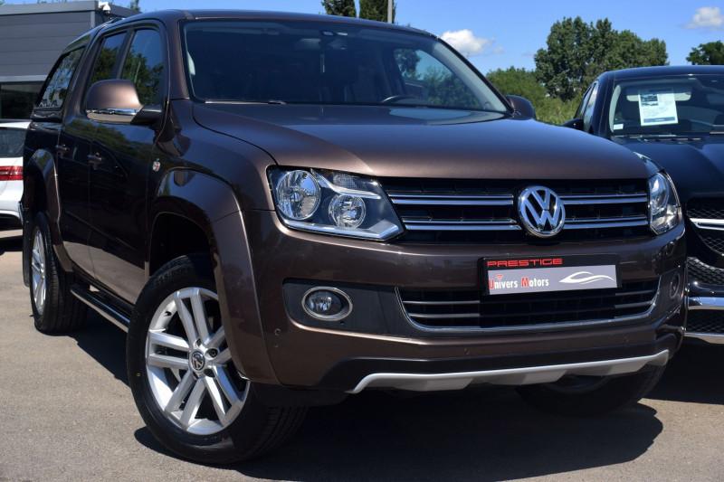 Volkswagen AMAROK 2.0 BITDI 140CH 4MOTION PERMANENTE BVA Diesel MARRON Occasion à vendre