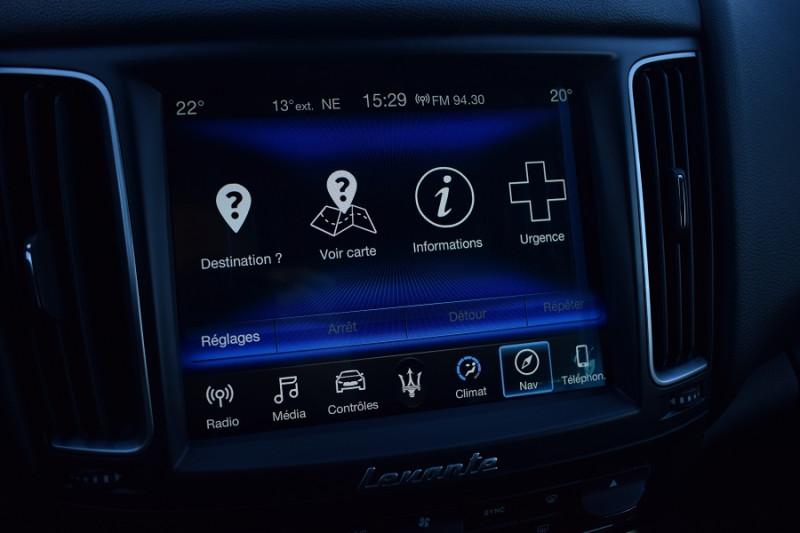 Photo 17 de l'offre de MASERATI LEVANTE 3.0 V6 250CH DIESEL à 39900€ chez Univers Motors