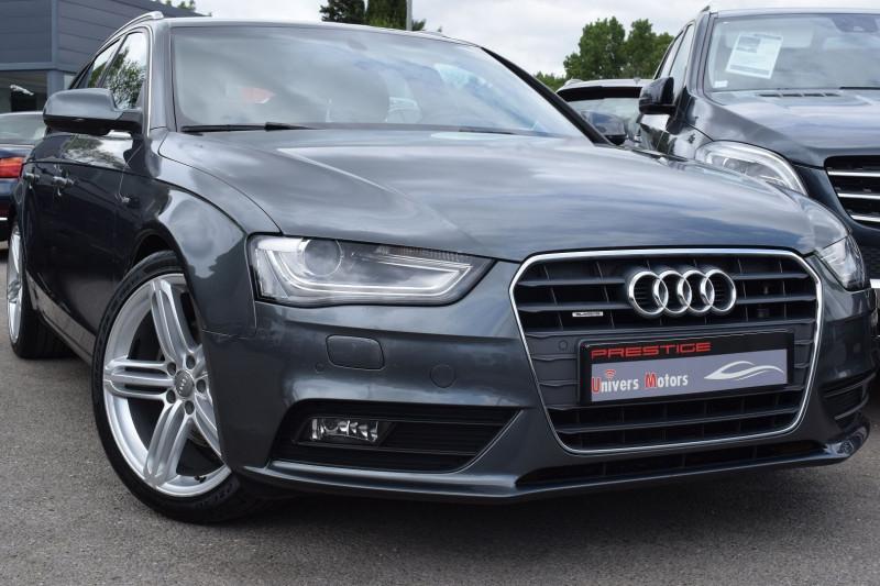 Audi A4 AVANT 2.0 TDI 190CH S LINE QUATTRO S TRONIC 7 Diesel GRIS DAYTONA Occasion à vendre