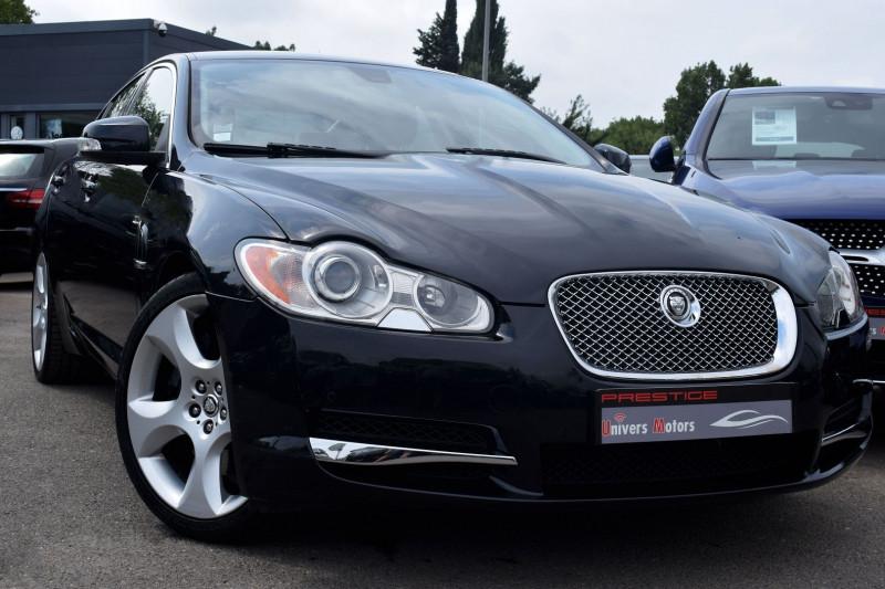 Jaguar XF 4.2 V8 SURALIMENTE SV8 Essence NOIR Occasion à vendre
