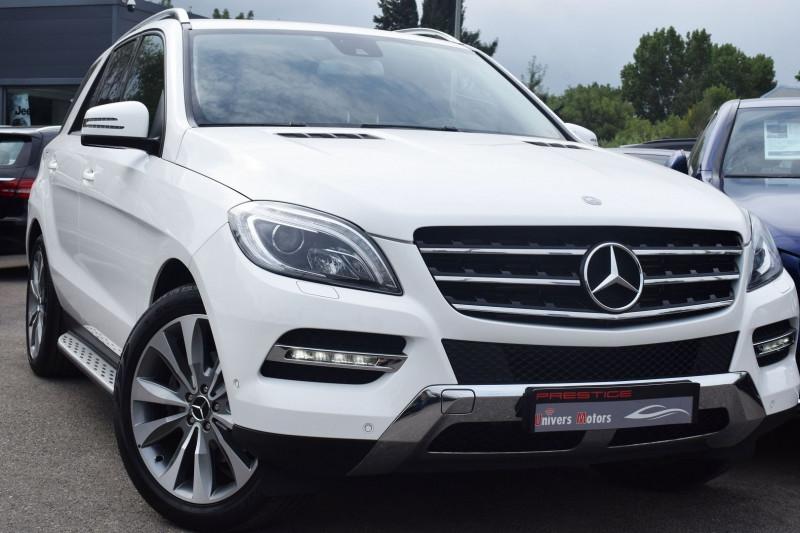 Mercedes-Benz CLASSE ML (W166) 250 BLUETEC SPORT 7G-TRONIC + Diesel BLANC Occasion à vendre