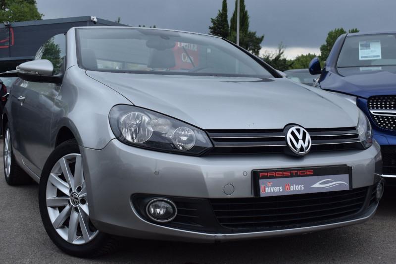 Volkswagen GOLF VI CABRIOLET 1.6 TDI 105CH FAP CARAT Diesel ANTHRACITE Occasion à vendre