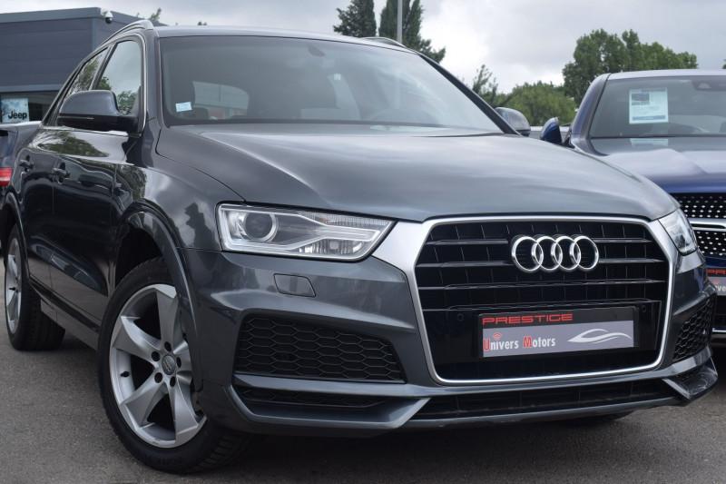 Audi Q3 2.0 TDI 120CH S LINE Diesel GRIS DAYTONA Occasion à vendre