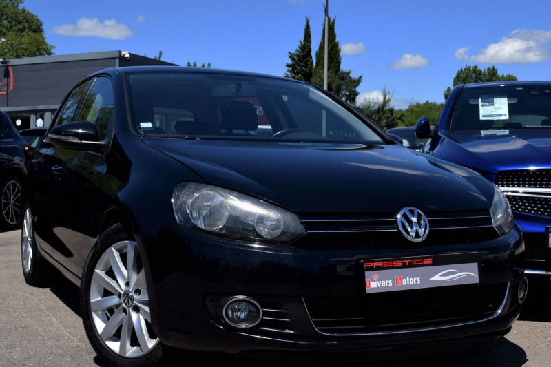 Volkswagen GOLF VI 1.6 TDI 105CH BLUEMOTION FAP CONFORTLINE 5P Diesel NOIR Occasion à vendre