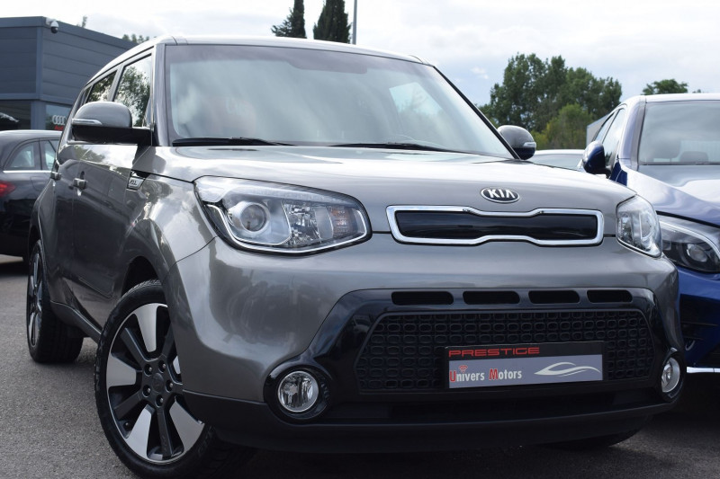 Kia SOUL 1.6 CRDI 136CH PREMIUM Diesel GRIS ANTHRACITE Occasion à vendre