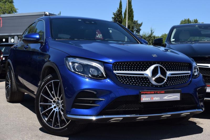 Mercedes-Benz GLC COUPE 350 E 211+116CH FASCINATION 4MATIC 7G-TRONIC PLUS Hybride BLEU Occasion à vendre