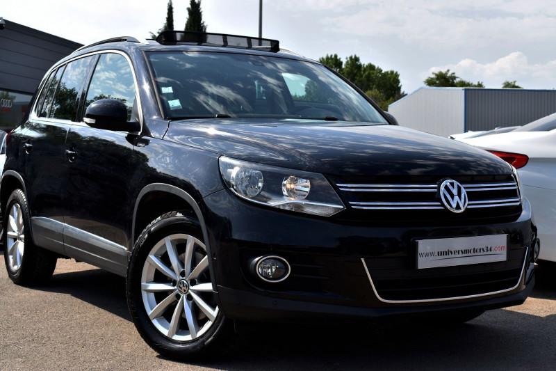 Volkswagen TIGUAN 2.0 TDI 177CH BLUEMOTION TECHNOLOGY FAP LOUNGE 4MOTION Diesel NOIR Occasion à vendre