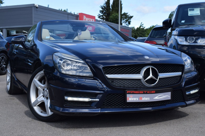 Mercedes-Benz CLASSE SLK (R172) 250 CDI 7GTRO+ Diesel BLEU Occasion à vendre