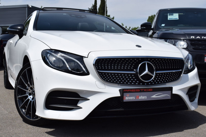 Mercedes-Benz CLASSE E COUPE (C238) 220 D 194CH FASCINATION 4MATIC 9G-TRONIC EURO6D-T Diesel BLANC Occasion à vendre
