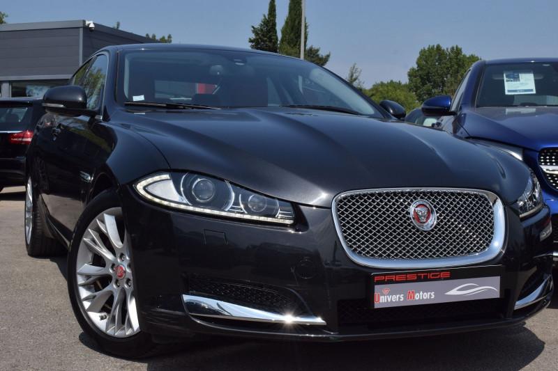 Jaguar XF 2.2 D 200CH LUXE PREMIUM Diesel NOIR Occasion à vendre