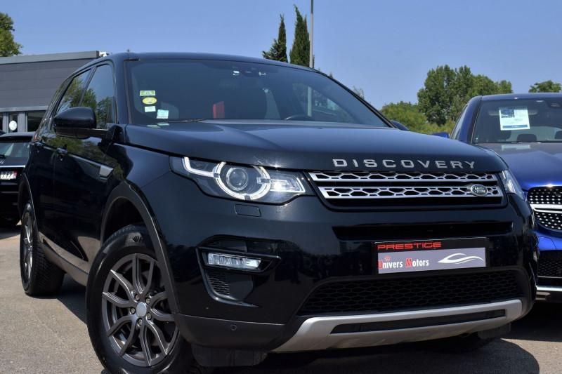 Land-Rover DISCOVERY SPORT 2.0 TD4 180CH AWD HSE BVA Diesel NOIR Occasion à vendre