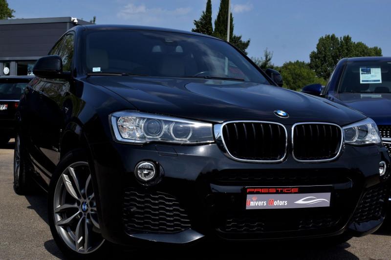 Bmw X4 (F26) XDRIVE20DA 190CH M SPORT Diesel NOIR Occasion à vendre