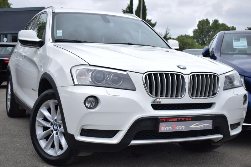 Bmw X3 (F25) XDRIVE30DA 258CH LUXE Diesel BLANC Occasion à vendre