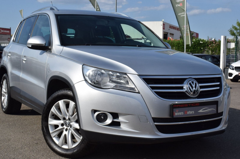 Volkswagen TIGUAN 2.0 TDI 140CH SPORTLINE 4MOTION Diesel GRIS Occasion à vendre