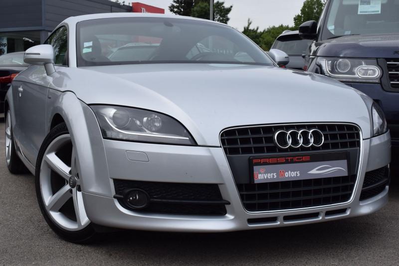 Audi TT 2.0 TFSI 200CH S LINE QUATTRO S TRONIC 6 Essence GRIS CLAIR Occasion à vendre