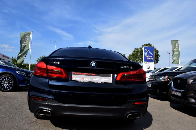Photo 9 de l'offre de BMW SERIE 5 (G30) 530DA XDRIVE 265CH M SPORT STEPTRONIC à 35400€ chez Univers Motors