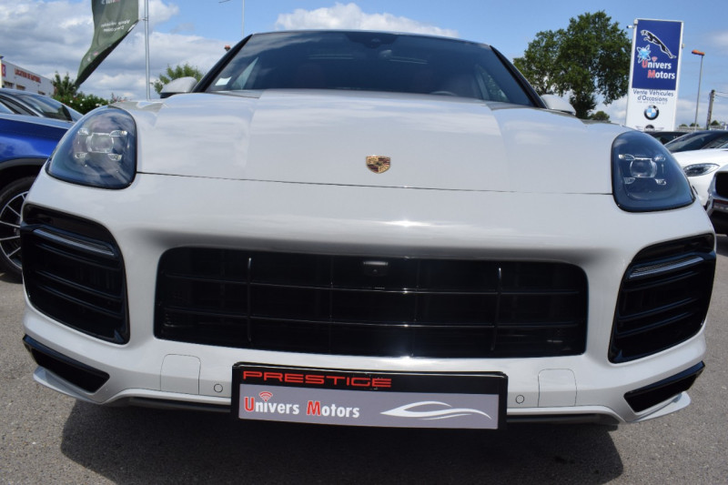 Photo 27 de l'offre de PORSCHE CAYENNE COUPE 3.0 V6 462CH E-HYBRID EURO6D-T-EVAP-ISC Origine France tva récupérable à 121900€ chez Univers Motors