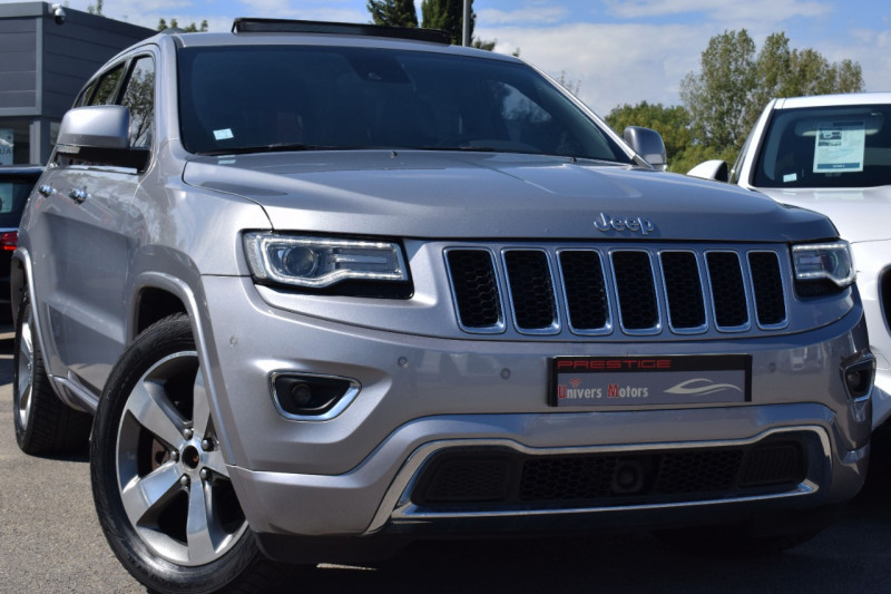 Jeep GRAND CHEROKEE 3.0 V6 CRD 250CH OVERLAND BVA8 Diesel GRIS FONCE METAL Occasion à vendre