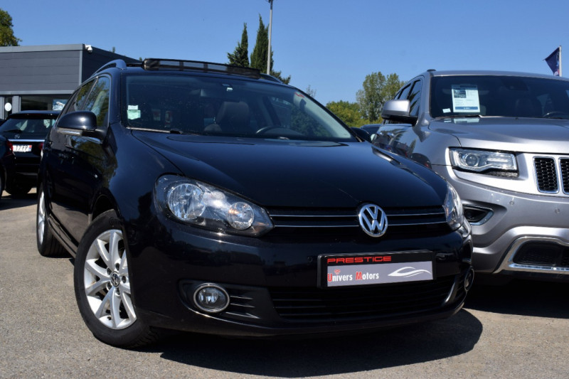 Volkswagen GOLF V SW 1.6 TDI 105CH CONFORTLINE Diesel NOIR Occasion à vendre