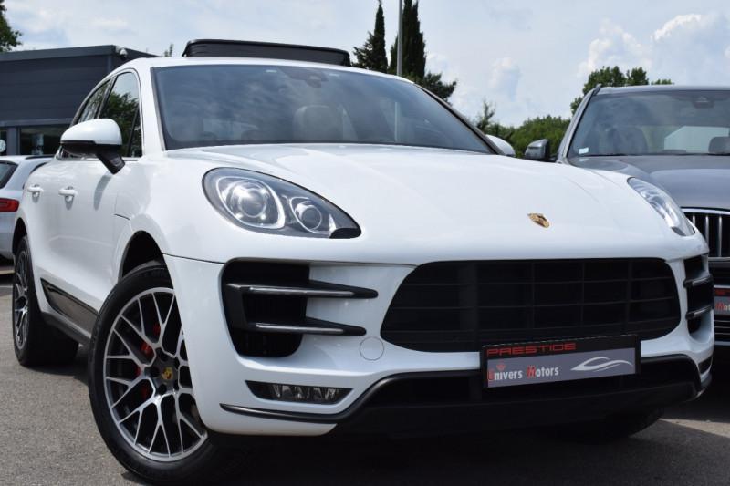 Porsche MACAN 3.6 V6 400CH TURBO PDK Essence BLANC Occasion à vendre