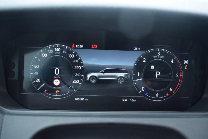 Photo 15 de l'offre de LAND-ROVER RANGE ROVER VELAR 3.0D V6 300CH R-DYNAMIC SE AWD BVA à 51900€ chez Univers Motors