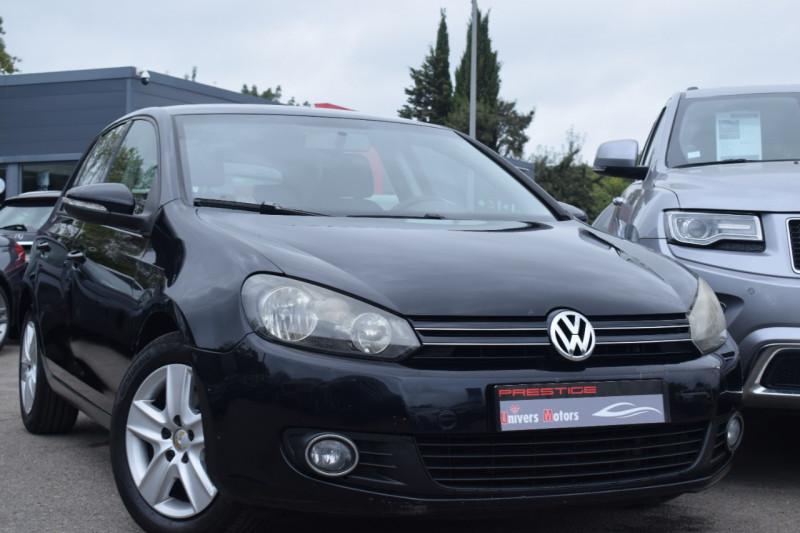 Volkswagen GOLF VI 2.0 TDI 140CH FAP CONFORTLINE 5P Diesel NOIR Occasion à vendre