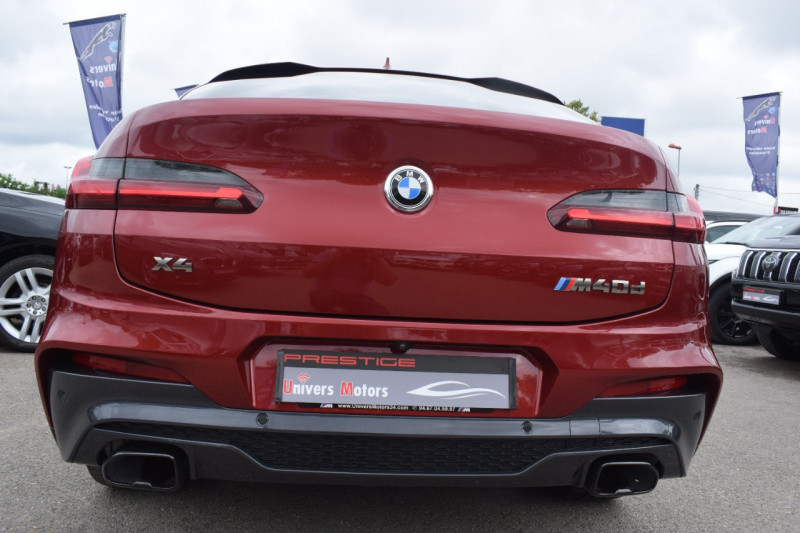 Photo 8 de l'offre de BMW X4 (G02) M40DA 326CH EURO6D-T à 51900€ chez Univers Motors