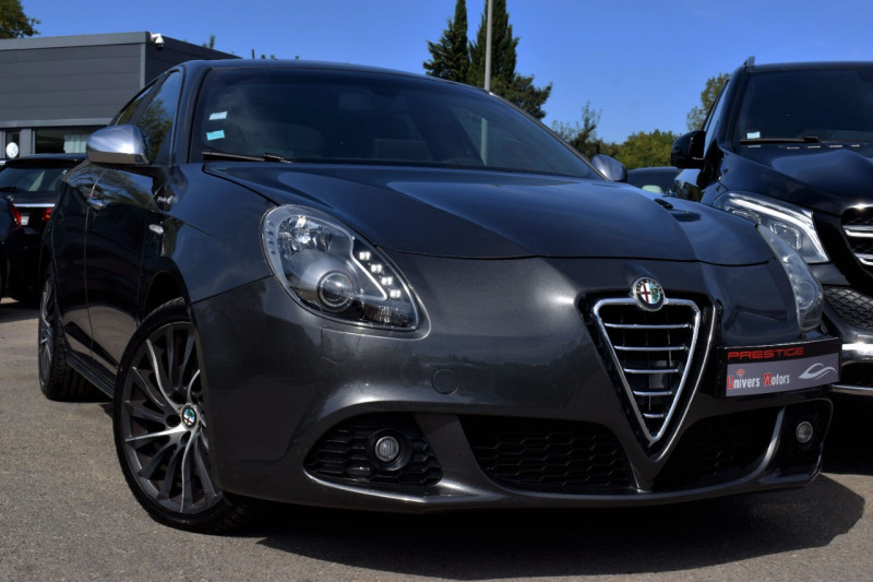 Alfa Romeo GIULIETTA 2.0 JTDM170 EXCLUSIVE STOP&START ALFA TCT Diesel GRIS ANTHRACITE Occasion à vendre