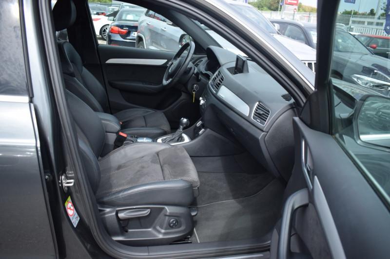 Photo 4 de l'offre de AUDI Q3 2.0 TDI 150CH S LINE QUATTRO S TRONIC 7 à 22400€ chez Univers Motors