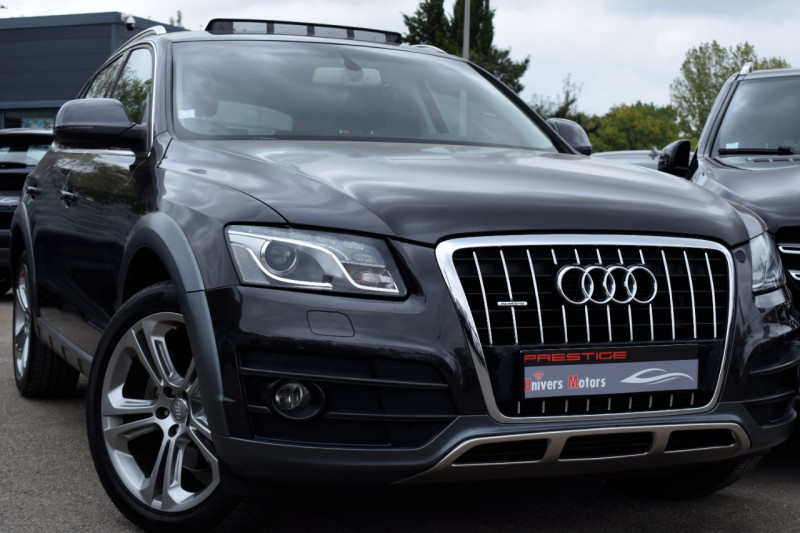 Audi Q5 3.0 V6 TDI 240CH FAP AVUS QUATTRO S TRONIC 7 Diesel GRIS FONCE Occasion à vendre