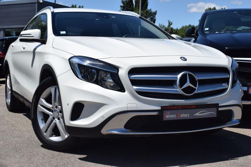 Mercedes-Benz CLASSE GLA (X156) 180 D SENSATION 7G-DCT Diesel BLANC Occasion à vendre