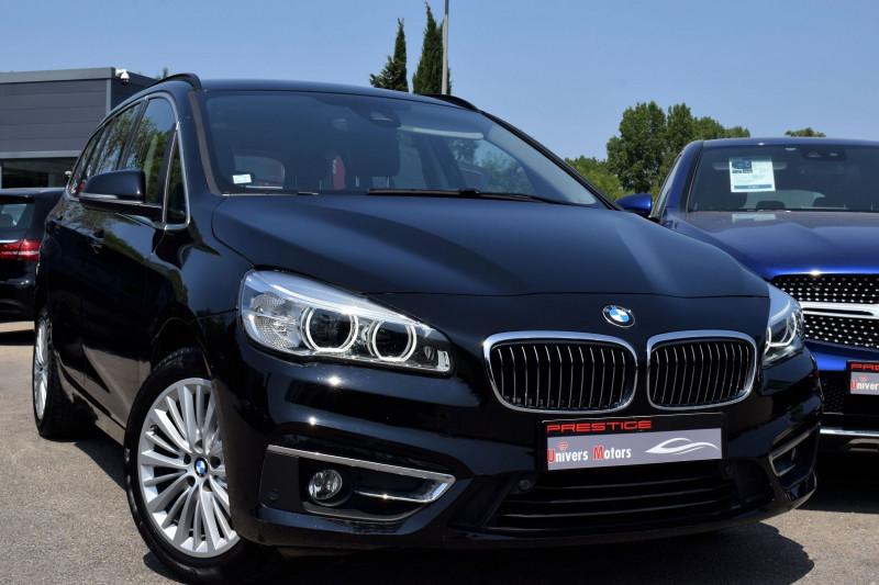 Bmw SERIE 2 GRAN TOURER (F46) 218DA 150CH LUXURY 7PLACES Diesel NOIR Occasion à vendre