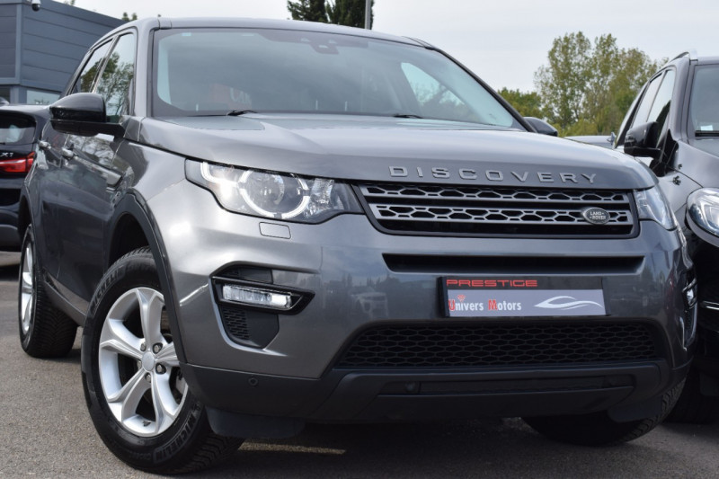 Land-Rover DISCOVERY SPORT 2.0 TD4 180CH BUSINESS AWD BVA 7places Diesel GRIS ANTHRACITE Occasion à vendre