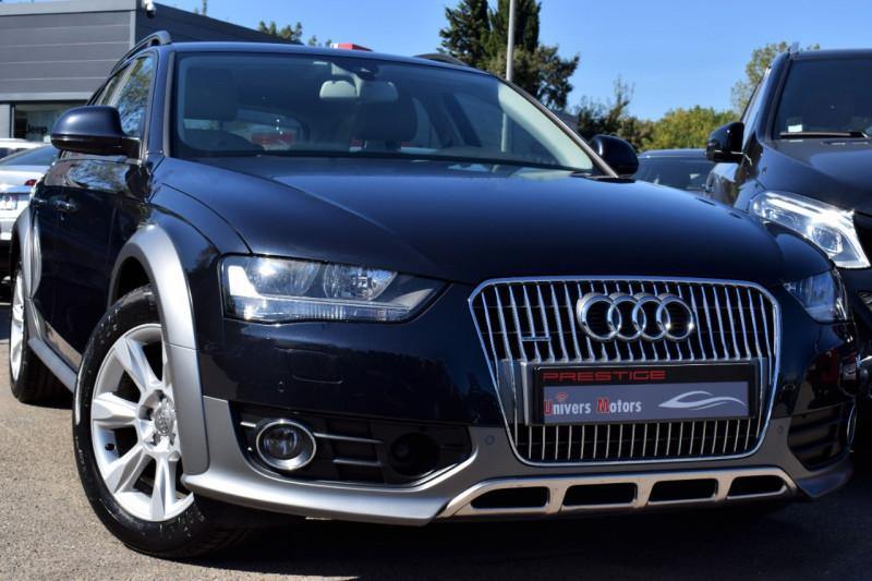 Audi A4 ALLROAD 2.0 TDI 177CH BUSINESS LINE QUATTRO S TRONIC 7 Diesel BLEU Occasion à vendre